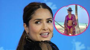 Im Bikini: Salma Hayek (54) zeigt ihren Hammer-Body im Netz