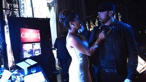 Ups! Salma Hayek schüttete bei Oscars Wasser über Eminem