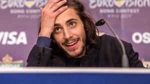 Salvador Sobral bei einer ESC-Pressekonferenz
