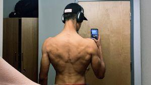 Verona Pooths Sohn San Diego (18) postet krasses Rücken-Foto