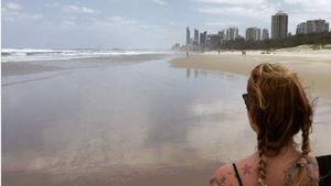 Nach IBES-Aus: Sandra Steffl genießt Beach in Down Under