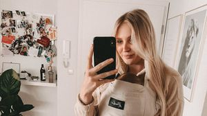 Neun Kilo plus: Ex-GNTM-Sandy sorgt sich um After-Baby-Body