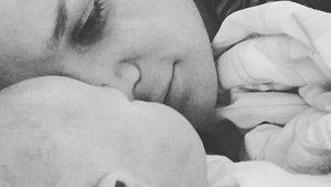 Sara Kulka mit ihrer zweiten Tochter