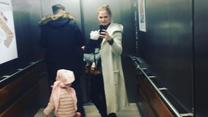 Sara Kulka mit ihrer Familie