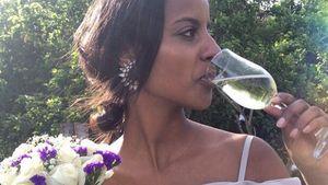 Pastell-Schönheit: Sara Nuru feiert äthiopische Hochzeit