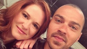 Sarah Drew und Jesse Williams