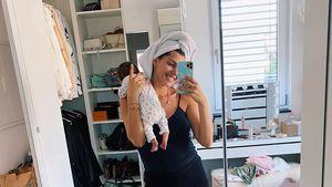 Realität: So ist Sarah Harrisons Alltag als Zweifach-Mama
