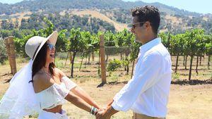 Statt Hochzeit: Sarah Hyland und ihr Verlobter trinken Wein