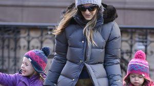 Sarah Jessica Parkers Zwillinge stylisch unterwegs
