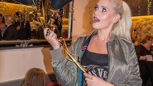 "Sarah Knappik beim 1. Jubiläum von ""Kokosh Hair & Beauty Salon"""