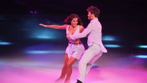 "Sarah Lombardi geht vor ""Dancing on Ice""-Finale die Düse"