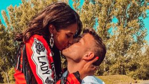 Sarah Lombardi und Julian genießen romantischen Abend