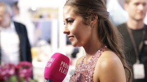"""Sarah Lombardi während der """"Platform Fashion"""" 2017 in Düsseldorf"""