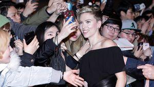Scarlett Johansson in Südkorea, März 2017