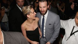 "Scarlett Johansson und Chris Evans bei der ""Avengers: Age of Ultron""-Premiere in Hollywood"