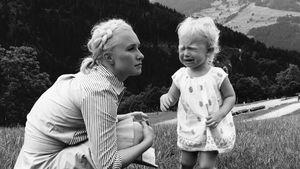 Schauspielerin Hayden Panettiere mit Töchterchen Kaya
