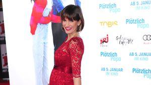"""Isabell Horn auf der """"Plötzlich Papa""""-Premiere in Berlin"""