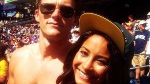Scott Eastwood mit seiner Freundin Jewel Alexandra Brangman im Jahr 2014