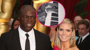 Duett mit Papa: Hier musiziert Heidi Klums Tochter mit Seal