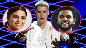 Selena Gomez, Justin Bieber und The Weeknd