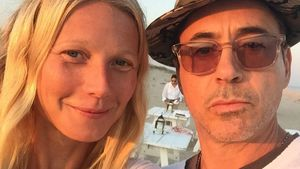 Iron Man! Gwyneth Paltrow postet Strand-Selfie mit Robert