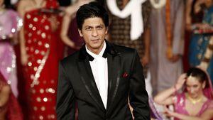 Shah Rukh Khan am Bollywood-Set