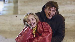 Heiße Küsse in Italien: Ist Sharon Stone etwa neu verliebt?