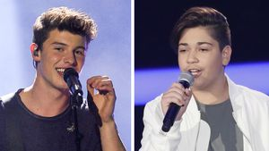 "Shawn Mendes und ""The Voice Kids""-Kandidat Miran"