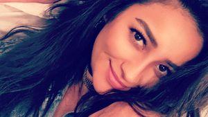 Shay Mitchell prankt ihren Dad vor Geburt mit Fake-Wehen