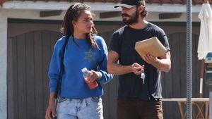 Shia LaBeouf: Lunch-Date mit seiner neuen Freundin!