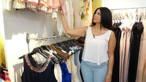 """""""Shopping Queen""""-Kandidatin Patrizia"""