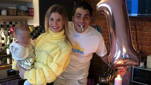 Hot Banditoz-Silva & Stefanie feiern Baby Ellas ersten B-Day