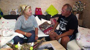 Risikopatient Harald: Silvia Wollny kommen die Tränen!