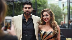 "Simon Saran und Farrah Abraham bei den ""MTV Movie Awards"" 2016"
