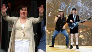 AC/DC und Susan Boyle