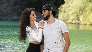 """Set-Panne: Davide und Siria schummeln bei """"#CoupleChallenge"""""""