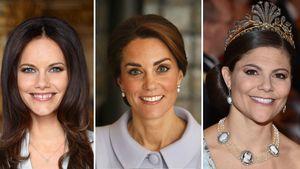 Sofia von Schweden, Herzogin Kate von Cambridge und Victoria von Schweden