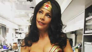 Sofia Vergara als kurvige Wonder Woman