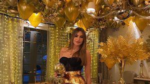 Goldenes Thanksgiving: Übertreibt es Sofia Vergara mit Deko?