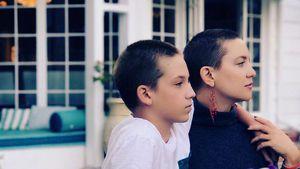 Raspelkurz: Kate Hudson & ihr Sohn haben die gleiche Frisur