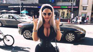 What?! Sophia Wollersheims Magen drückt in ihren XXL-Busen