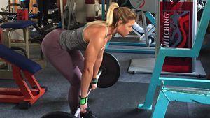 Sophia Thiel im Fitness-Studio