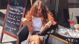 Sophia Thomalla mit neuer Haarfarbe