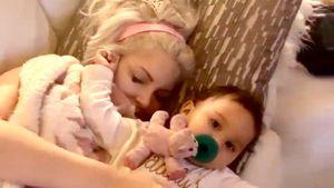Kleiner Frechdachs: Sophia Vegas' Baby will nicht schlafen!