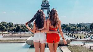 Soraya und Brenda in Paris