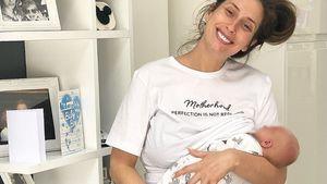 Stacey Solomon seit Geburt im Mai nicht vor die Tür gegangen
