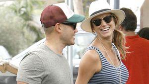 Happy! Stacy Keibler mit Baby-Bauch & ihrem Jared