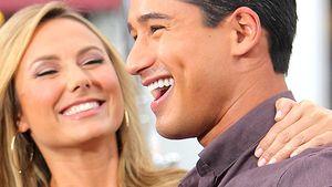 Bandelt Clooneys Freundin etwa mit Mario Lopez an?