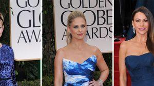 Golden Globe-Kleidertrend: Diese Stars waren blau!