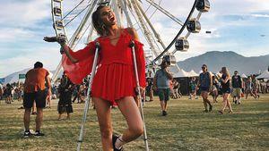Stefanie Giesinger auf dem Coachella-Festival 2017